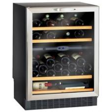 Двухзонный встраиваемый винный шкаф Climadiff CV52 IXDZ