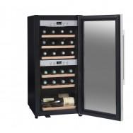 Двухзонный винный шкаф La Sommeliere ECS25.2Z на 24 бутылки